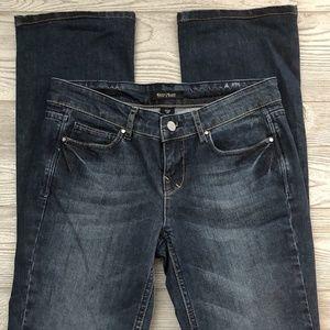White House Black Market Noir Boot Leg Jeans Sz. 2
